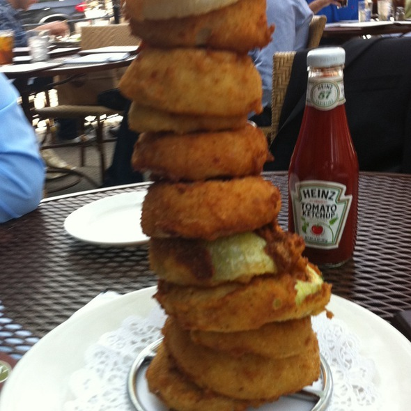 Onion Rings - Stephanie's On Newbury, Boston, MA