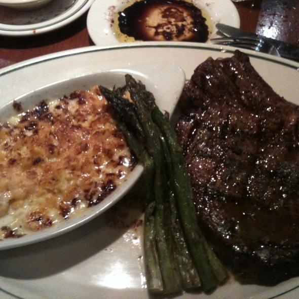 Rib Eye Steak  - Cafe Fiore, Ventura, CA