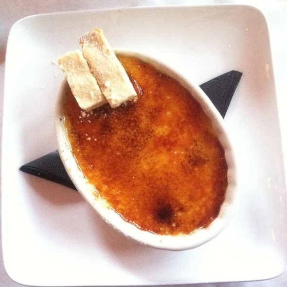 Orange Creme Brulee - b, A Bolton Hill Bistro, Baltimore, MD