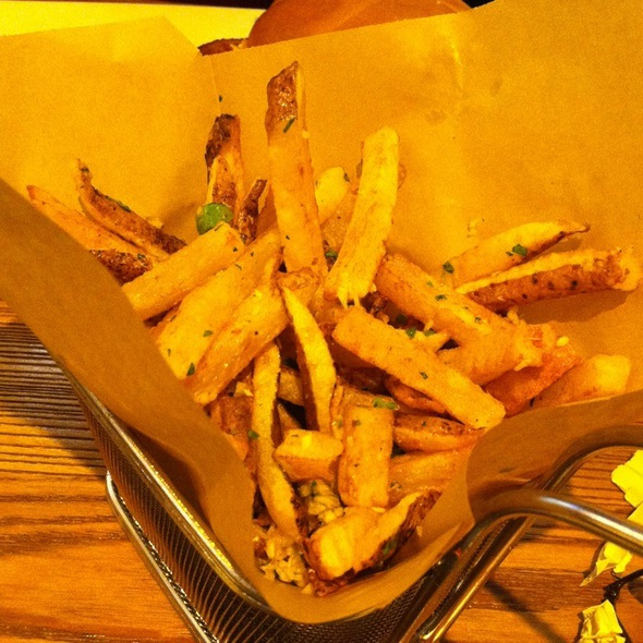 Garlic And Herb Fries - Broadway Burger Bar and Grill, Las Vegas, NV