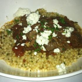 Braised Lamb Shank - Orzo Kitchen & Wine Bar, Charlottesville, VA