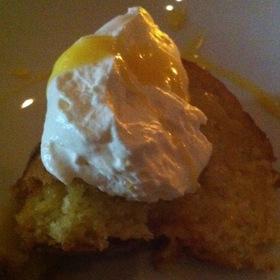 Citrus Cake - Orzo Kitchen & Wine Bar, Charlottesville, VA