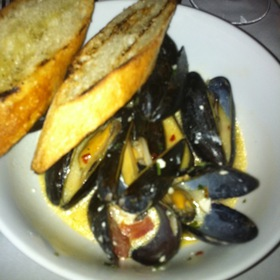 Oven Roasted Pei Mussels - Orzo Kitchen & Wine Bar, Charlottesville, VA