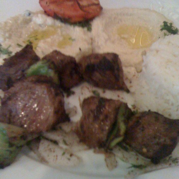 Beef Shish Kabob - Tannourine, San Mateo, CA