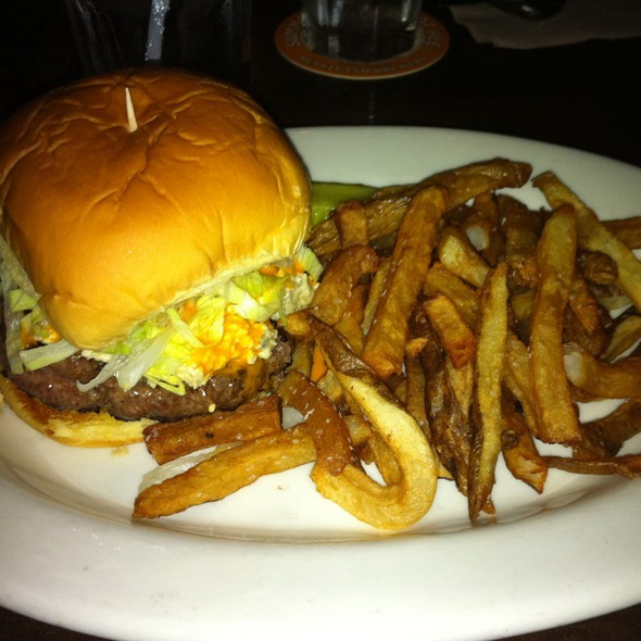 Buffalo Burger - Heartland Brewery Chophouse, New York, NY