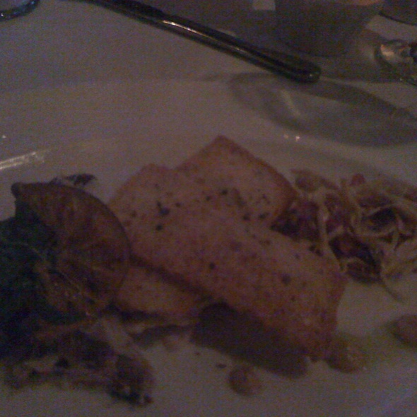Smoked Blue Fish W Mustard Slaw And Brioche Toasts - Mill's Tavern, Providence, RI