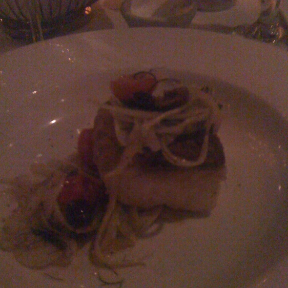 Black Cod W Warm Fennel Olive And Tomato Salad - Mill's Tavern, Providence, RI