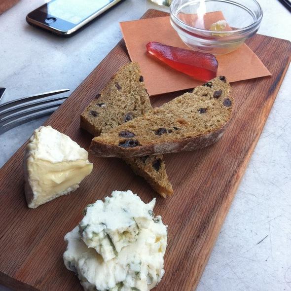 Cheese Board - Back Bay Social Club, Boston, MA