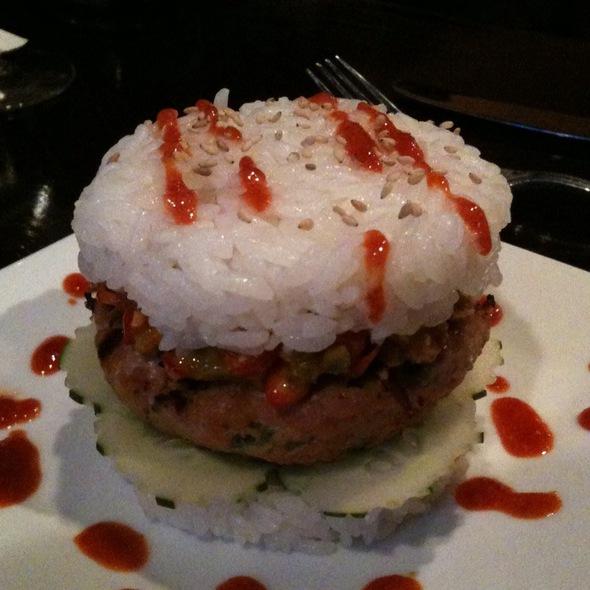 Level 10 Spicy Tuna Burger - Tasty Thai & Sushi, Charleston, SC
