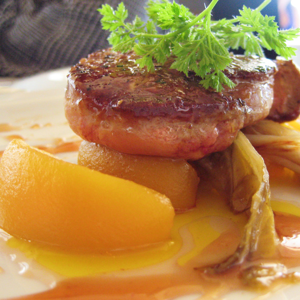 Seared Foie Gras - Tramonto at River Rock Casino Resort, Richmond, BC