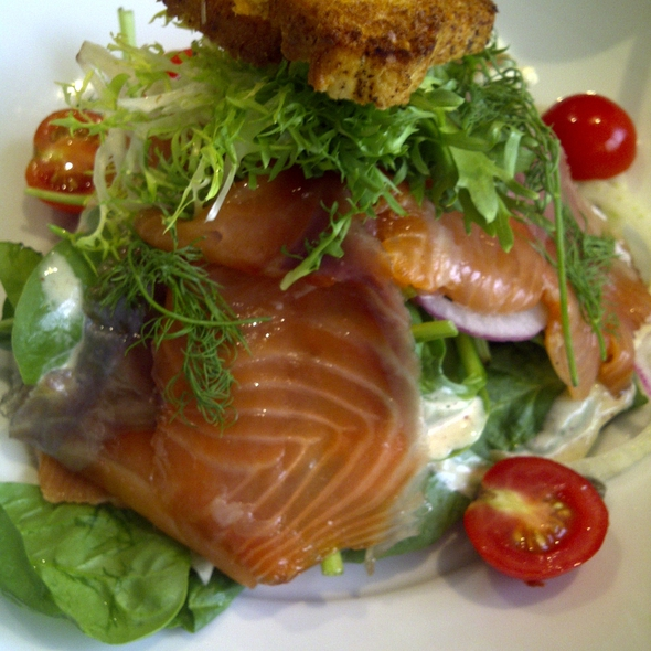 Smoked Salmon Salad - Stone's Throw Restaurant & Bar, Washington, DC