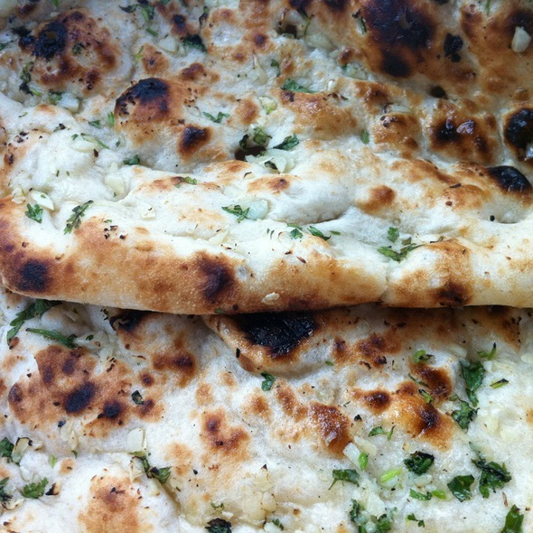 Garlic Naan Bread - Sansar Indian Cuisine - Livermore, Livermore, CA