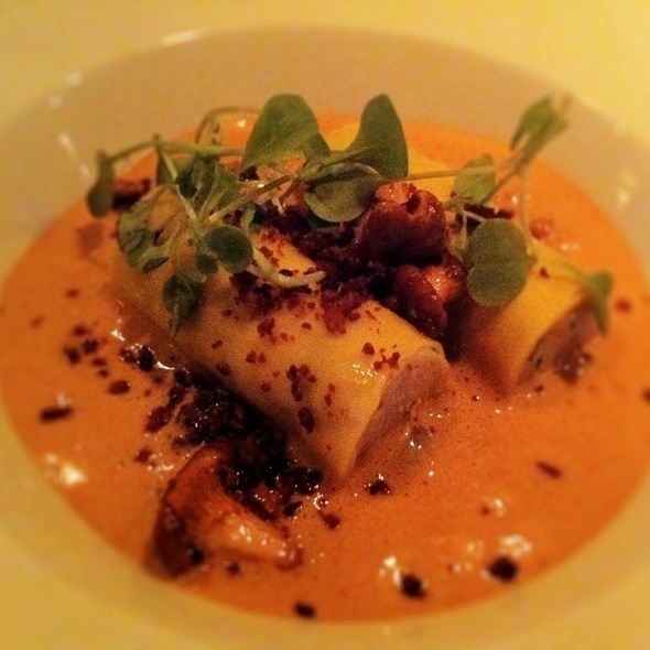 Rabbit Cannelloni - L'Abattoir Restaurant, Vancouver, BC