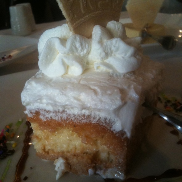 tres leches - Fornos of Spain, Newark, NJ