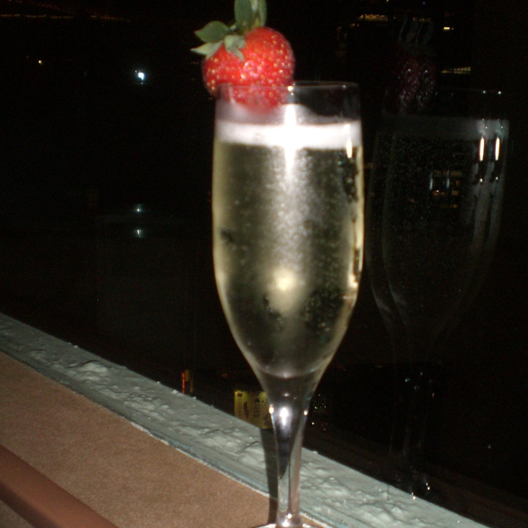 Sparkling Wine - The View Restaurant, New York, NY
