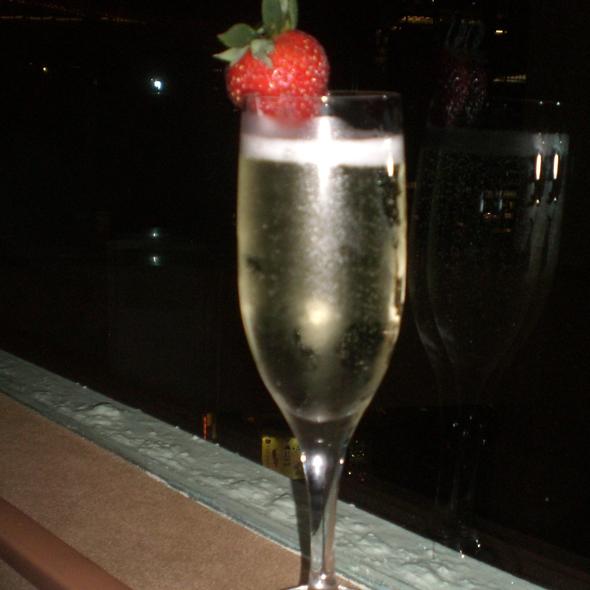 Sparkling Wine - The View Restaurant, New York, NY