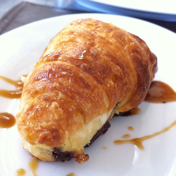 Chocolate Banana Croissant - Cookshop, New York, NY
