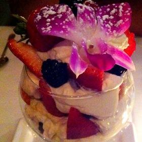 Fresh Fruit Parfait With Orange Essence Cream - Dewz, Modesto, CA