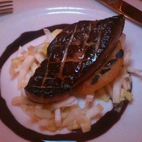 Foie Gras With Grilled Peach - Bistrot La Minette, Philadelphia, PA