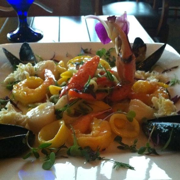 Seafood Platter - Bayfront Bistro, Fort Myers Beach, FL