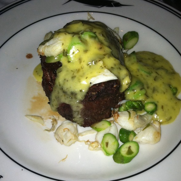 10 Oz Filet Mignon W/Oscar Topping - Oceanaire Seafood Room - Baltimore, Baltimore, MD