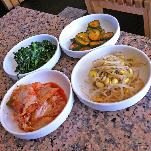Banchan - Stone Korean Kitchen, San Francisco, CA