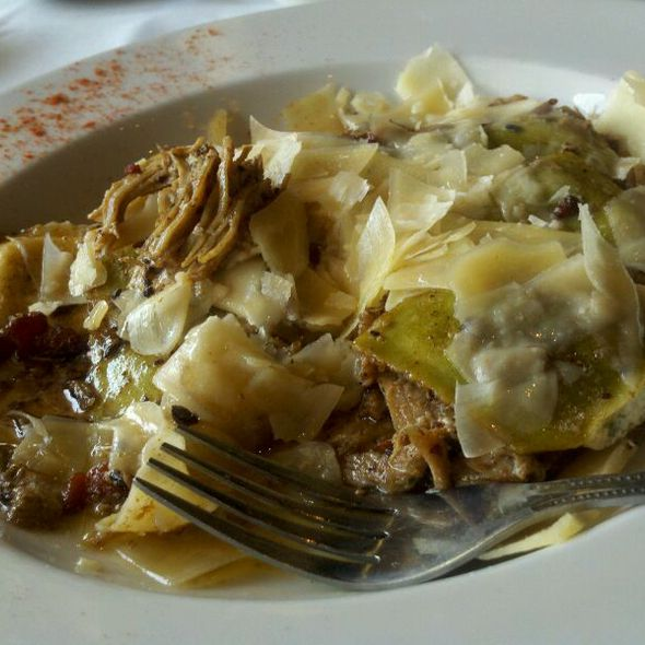 Spinach and Cheese Ravioli W/ Duck Confit  - Deep Fork Grill, Oklahoma City, OK