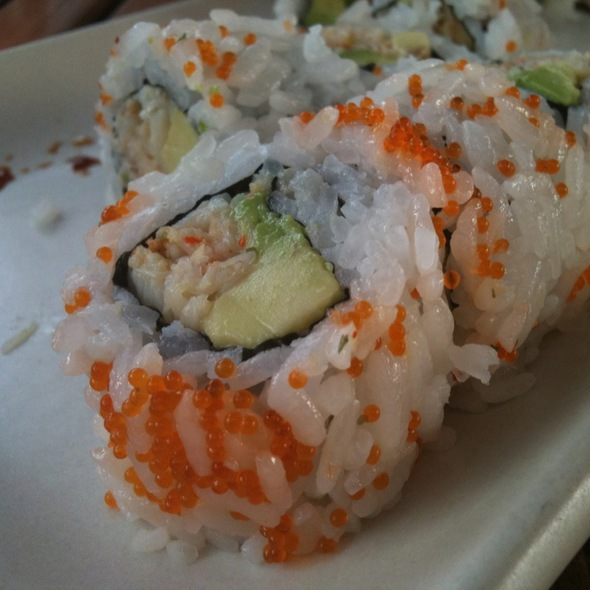 Dungeness Crab Roll - Yakuza Lounge, Portland, OR