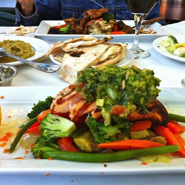 Grilled Salmon - Pomegranate Restaurant, Walnut Creek, CA
