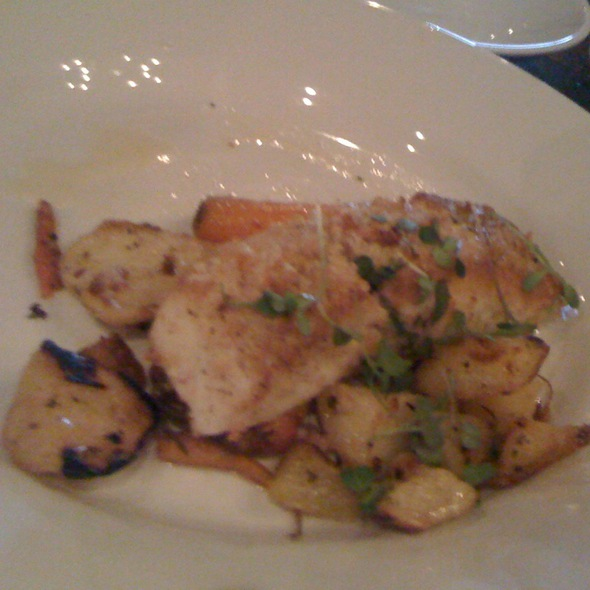 Pan Roasted Alaskan Halibut - Cibo E Beve, Sandy Springs, GA