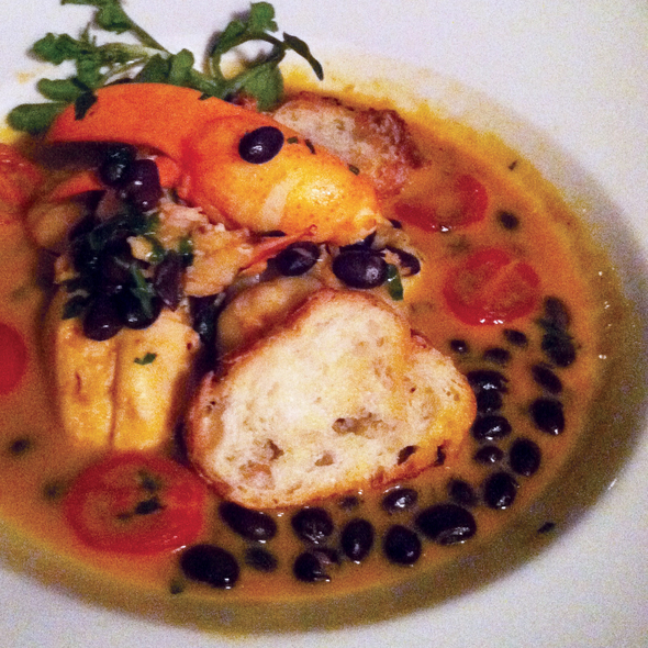 Lobster Cassoulet - Chez Josephine, New York, NY