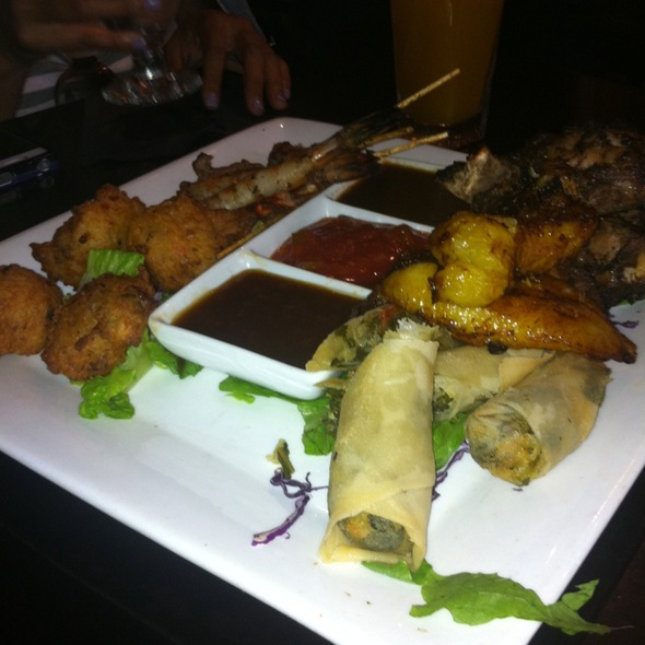 Chef Sampler Platter - Negril Village, New York, NY