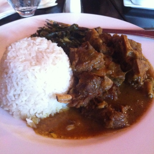Curry Goat Stew - Negril Village, New York, NY
