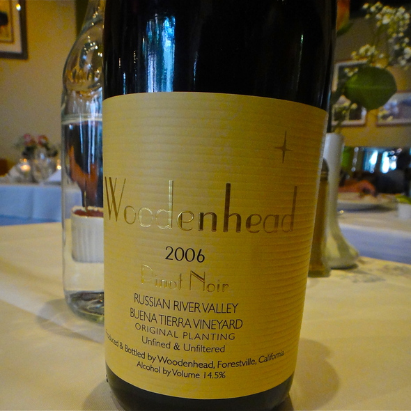 Wookdenhead 2006 Pinot Noir, Russian River, Original Planting, Unfined & Unfiltered - Maykadeh, San Francisco, CA