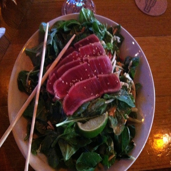 Ahi Tuna Salad - Rock Bottom Brewery Restaurant - Colorado Springs, Colorado Springs, CO