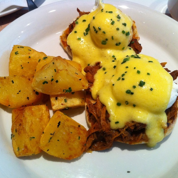 Eggs Benedict - O&B Canteen, Toronto, ON