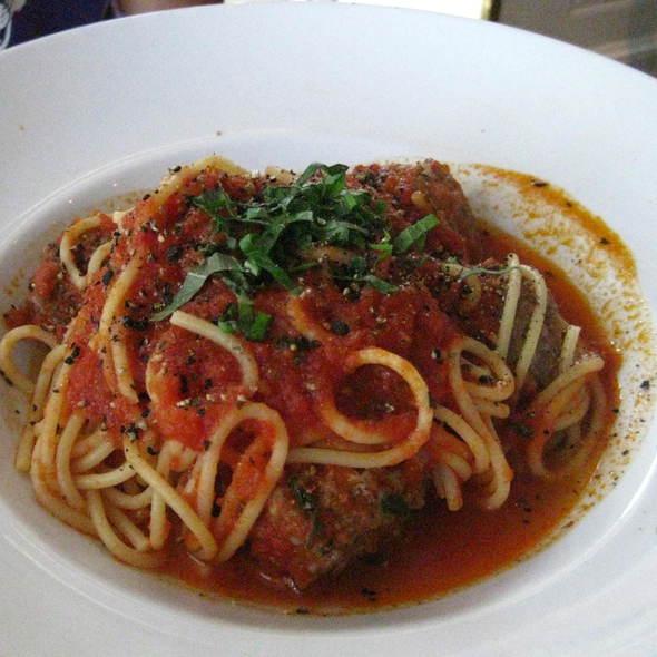Spaghetti and Meatballs - Convito Cafe and Market, Wilmette, IL