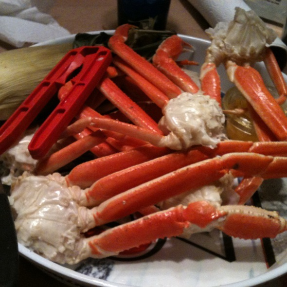 Alaskan King Crab Legs - Higgins Crab House - 128th Street, Ocean City, MD