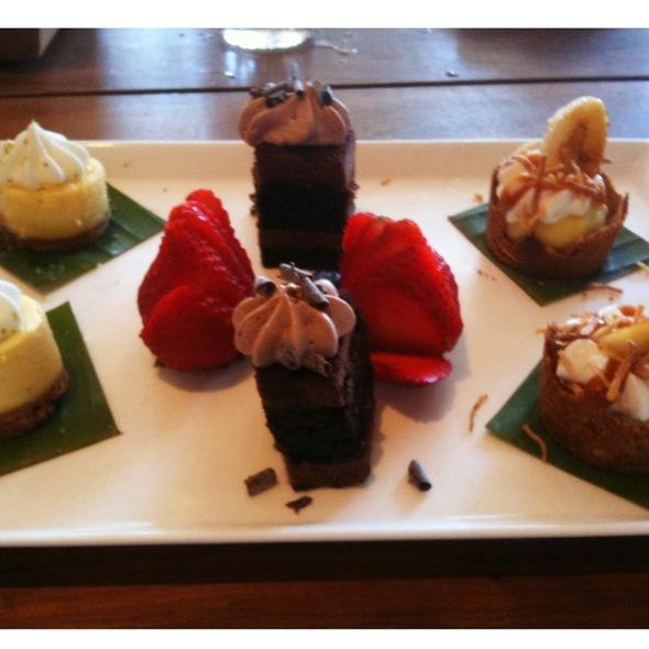 Dessert Sampler Plate - Tommy Bahama Laguna Beach Bar & Grill, Laguna Beach, CA