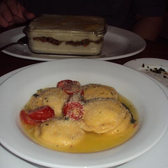 Pumpkin Ravioli - Cafe Argentino, New York, NY