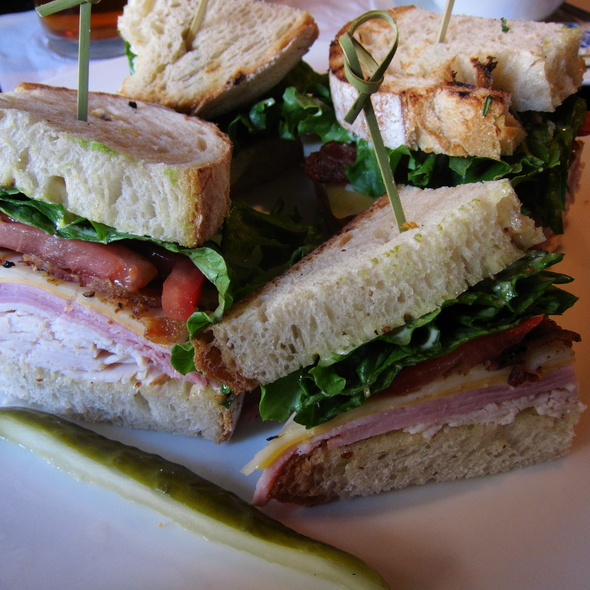 Turkey Club Sandwich - Stanford's - Lloyd Center, Portland, OR