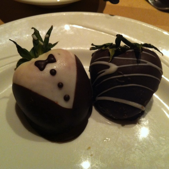 Chocolate Covered Strawberries - Sterling's Seafood Steakhouse at Silver Legacy Resort Casino, Reno, NV