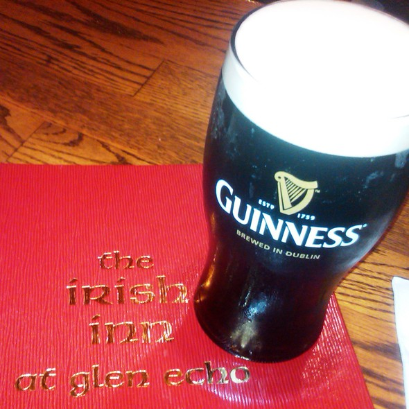 Guinness - The Irish Inn at Glen Echo, Glen Echo, MD