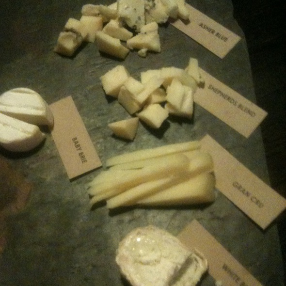 Cheese Board - Moxie the Restaurant - Cleveland, Beachwood, OH