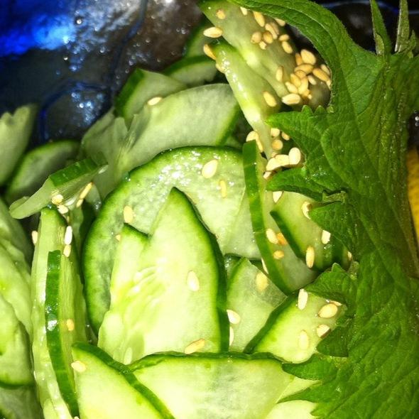 Cucumber Salad - Nobu Las Vegas - Hard Rock Hotel & Casino, Las Vegas, NV