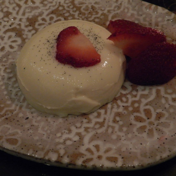 White Chocolate Panna Cotta - Lotus Farm to Table, Media, PA