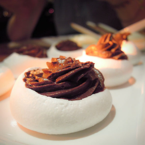 Belgian Chocolate Mousse - Chambar, Vancouver, BC