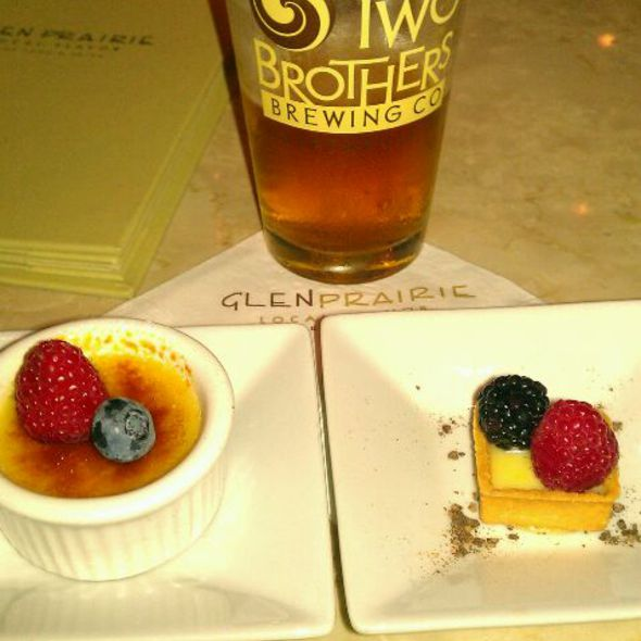 Mini Creme Brulee & Mini Lemon Tart - Glen Prairie, Glen Ellyn, IL