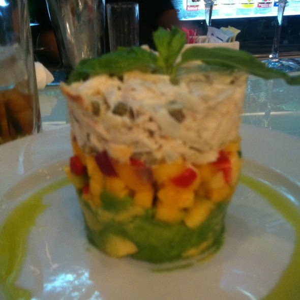 Crab, Avocado, & Mango Stack - Chart House Restaurant - Golden Nugget - Las Vegas, Las Vegas, NV