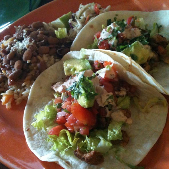 Chicken Tacos - Cantina 1511 - Park Road Shopping Center, Charlotte, NC